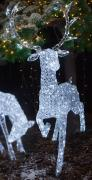 Crystal led reindeer