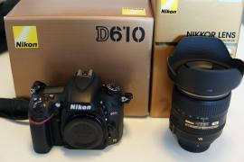 Nikon D610 with 24-85mm f3.5-4.5 VR Lens