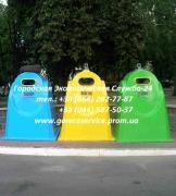 Пластмассовые контейнеры для сбора ТБО