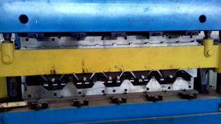 Продается двухуровневая б/у линия для прокатки профнастила ТП-45