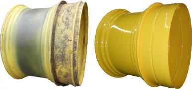 Терміновий ремонт сільськогосподарських колісних дисків