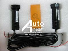 Тюнинг Подсветка Лазерный LED проектор логотипа автомобиля
