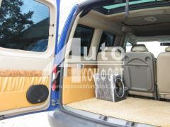 Тюнинг Подсветка Установка акустической системы в автомобиль
