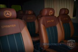 Тюнинг Внутренний Переоборудование переделка салона в микроавтобус перетяжка