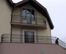 Wrought iron balconies, fences in Korosten and Kiev